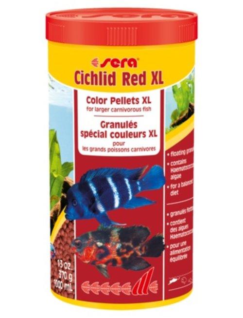 Cichlid Red XL Floating Color Pellets (1000ml) Sera