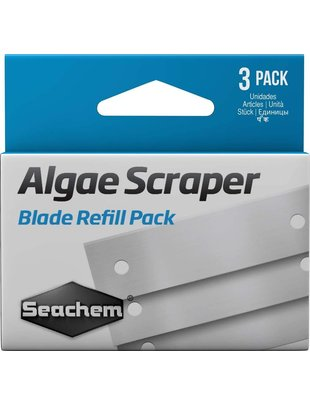 Seachem Algae Scraper Replacement Metal Blades (3 pack) Seachem