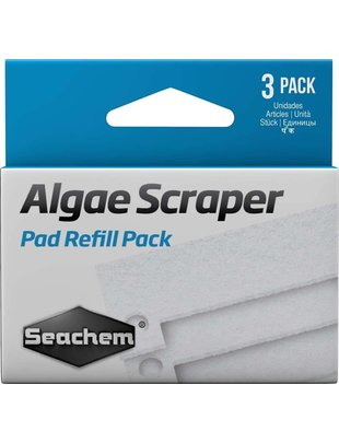 Seachem Algae Scraper Replacement Pads (3 pack) Seachem