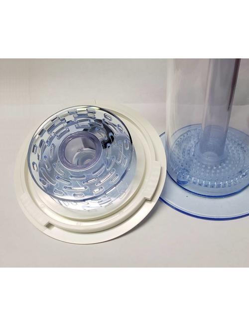 Glass Aquatics Media Reactor with Twist-Off Lid (Sm) Glass Aquatics