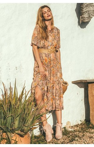 SPELL AND THE GYPSY COLLECTIVE SPELL AMETHYST GARDEN PARTY DRESS