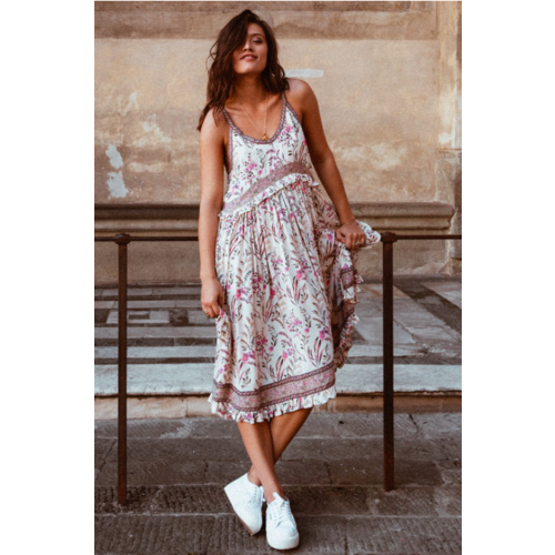 SPELL AND THE GYPSY COLLECTIVE SPELL MAISIE STRAPPY DRESS