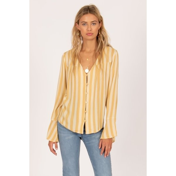 AMUSE SOCIETY ALWAYS SOMETHING WOVEN TOP