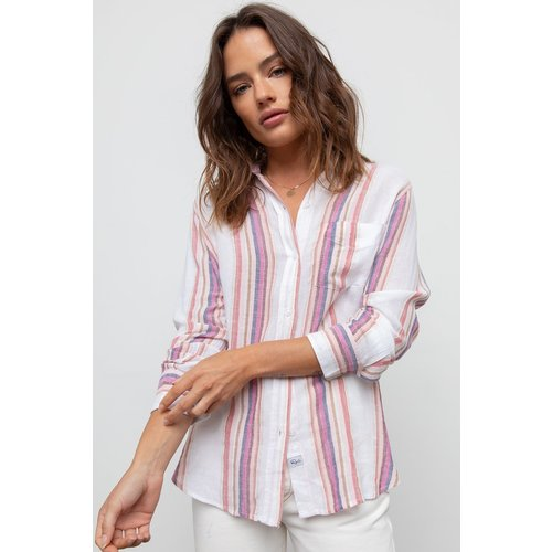 RAILS RAILS JEWEL STRIPE BLOUSE