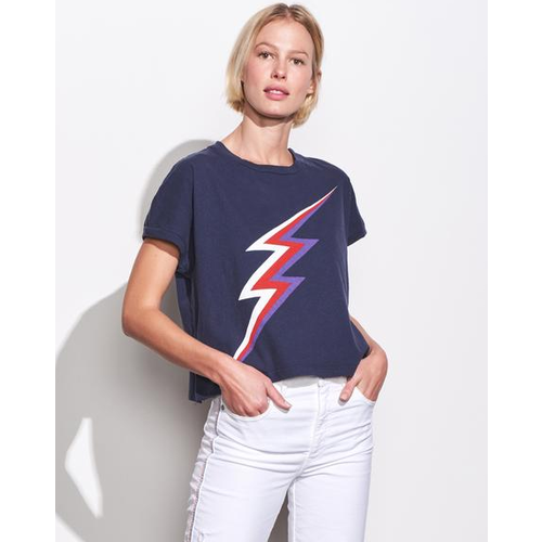 SUNDRY LIGHTNING BOLT TEE