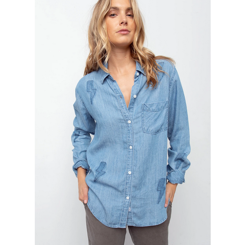 RAILS RAILS INGRID BUTTON UP