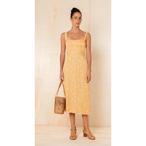 BEACHGOLD BALI BEACHGOLD BALI RILEY MIDI DRESS