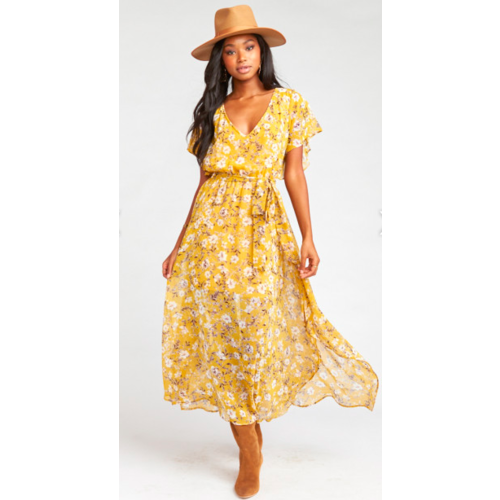 SHOW ME YOUR MUMU SHOW ME YOUR MUMU PALOMA FLUTTER DRESS