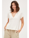 LACAUSA RELAXED BABY V TEE