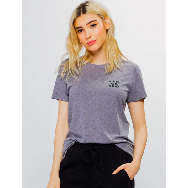 SUBURBAN RIOT CHIPS AND GUAC LOOSE TEE