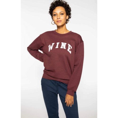 SUBURBAN RIOT SUBURBAN RIOT WINE WILLOW SWEATSHIRT