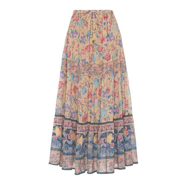 SPELL SEASHELL MAXI SKIRT