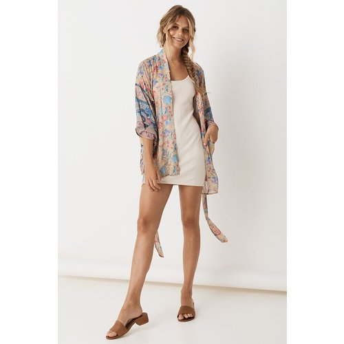 SPELL AND THE GYPSY COLLECTIVE SPELL SEASHELL SHORT ROBE