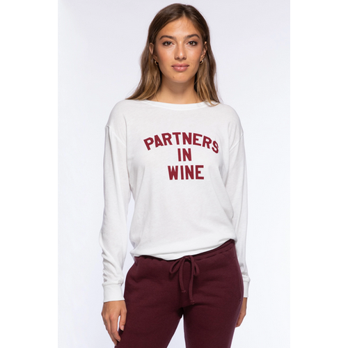 SUBURBAN RIOT SUBURBAN RIOT PARTNERS IN WINE CAMP TEE