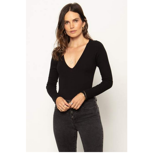 STILLWATER STILLWATER THE V NECK BODYSUIT