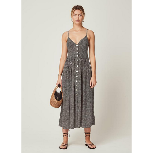 AUGUSTE AUGUSTE TEARDROP STAPLES MAXI DRESS