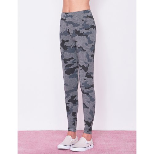SUNDRY SUNDRY CAMO STAR HEART YOGA PANTS