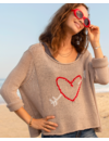 WOODEN SHIPS CUPID SWEATER