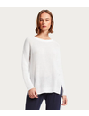MICHAEL STARS  PAIGE SCOOP NECK PULLOVER