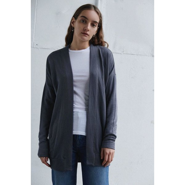 STATESIDE FLEECE LONGSLEEVE CARDIGAN