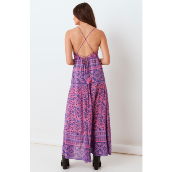 SPELL JOURNEY STRAPPY MAXI DRESS