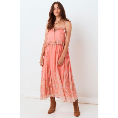 SPELL AND THE GYPSY COLLECTIVE SPELL HENDRIX STRAPPY MAXI DRESS