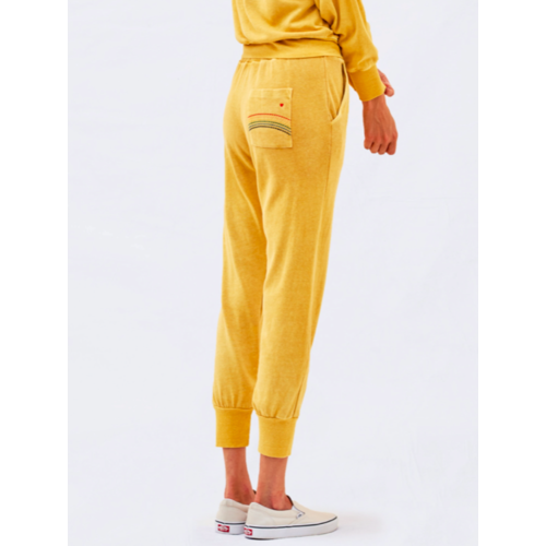 SUNDRY SUNDRY RAINBOW EMBROIDERED SWEATS