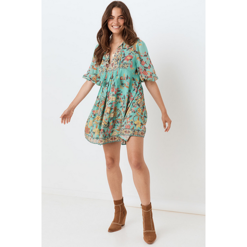 SPELL AND THE GYPSY COLLECTIVE SPELL HENDRIX TUNIC DRESS
