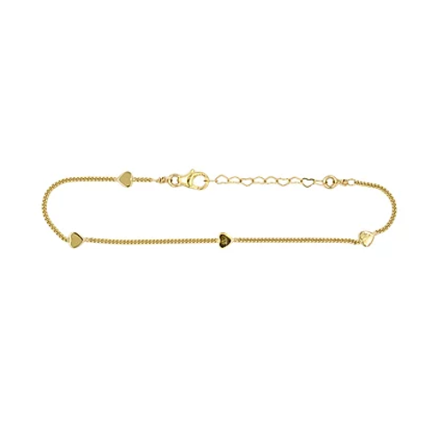 paradigm PARADIGM YOUNG AT HEART BRACELET GOLD FILLED