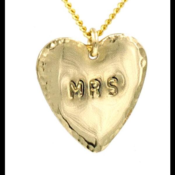 PARADIGM MRS HEART NECKLACE
