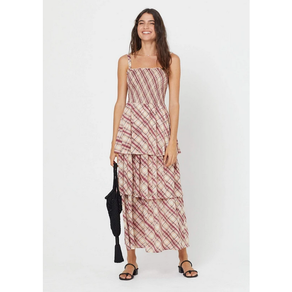 AUGUSTE SLOANE LISE MAXI DRESS