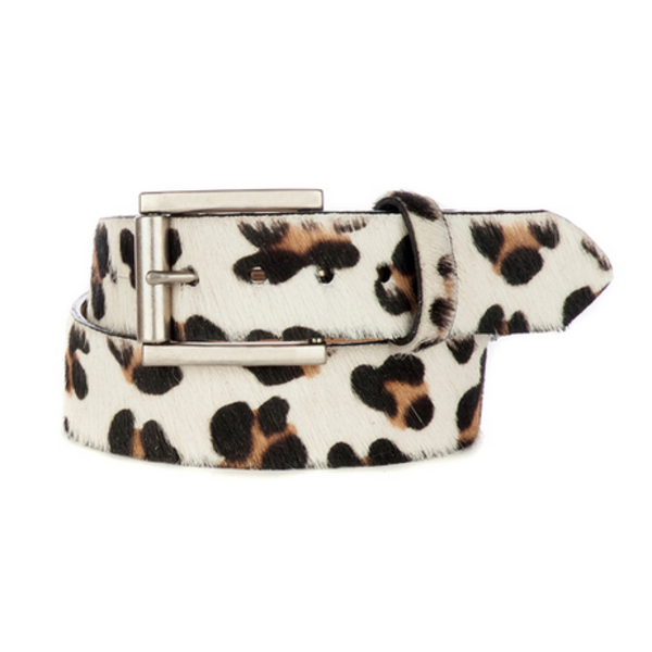 BRAVE LEATHER LEYSA LEOPARD BELT