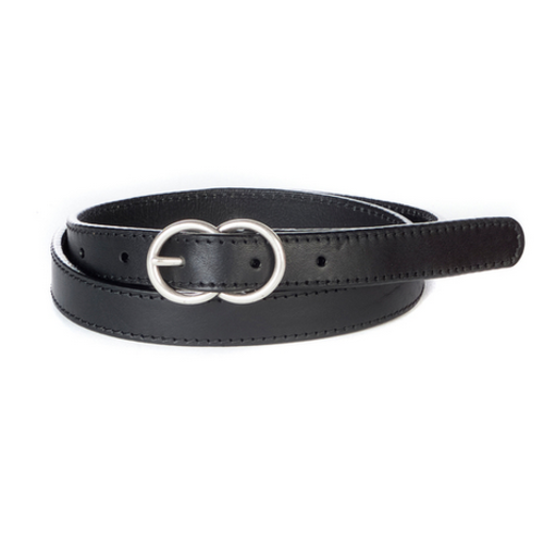 BRAVE LEATHER BRAVE LEATHER LIISI DOUBLE CIRCLE BELT