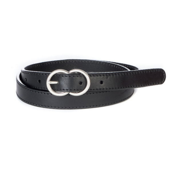 BRAVE LEATHER LIISI DOUBLE CIRCLE BELT
