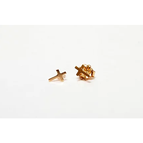 paradigm PARADIGM CROSS STUD EARRINGS