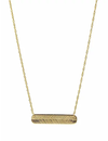 PARADIGM FEATHER BAR NECKLACE