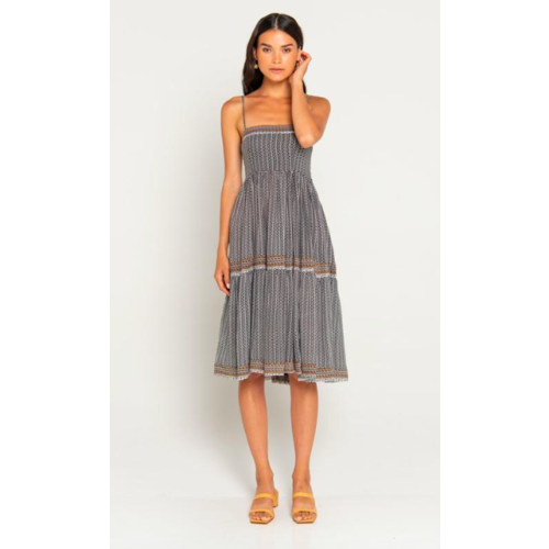 BEACHGOLD BALI BEACHGOLD BALI SAMMY MIDI DRESS