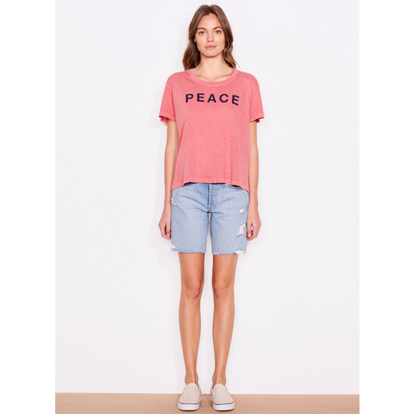 SUNDRY PEACE AND LOVE VINTAGE TEE