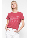 SUBURBAN RIOT ONLY LOVE LOOSE TEE
