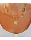 PARADIGM BRICK CHAIN NECKLACE