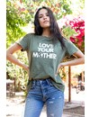 SUBURBAN RIOT LOVE YOUR MOTHER LOOSE TEE
