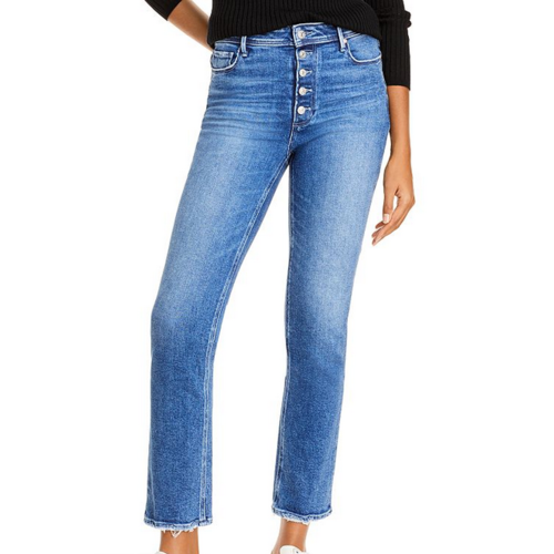 PAIGE PAIGE CINDY WITH BUTTON FLY JEANS