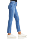 PAIGE CINDY WITH BUTTON FLY JEANS