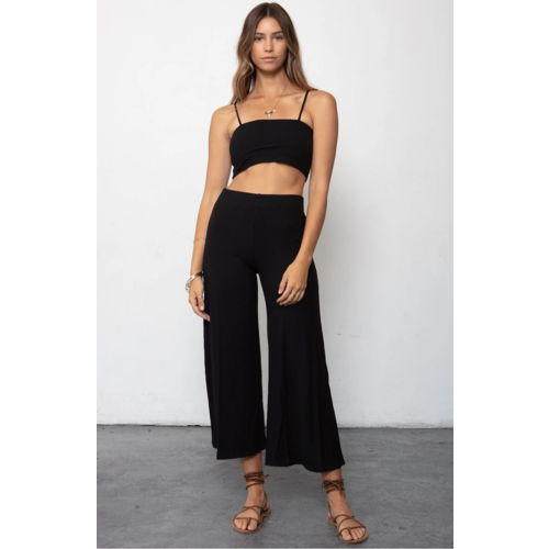 STILLWATER STILLWATER THE  RIB WIDE LEG PANT