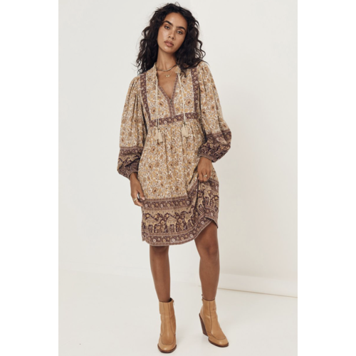 SPELL AND THE GYPSY COLLECTIVE SPELL SUNDOWN BOHO MINI DRESS