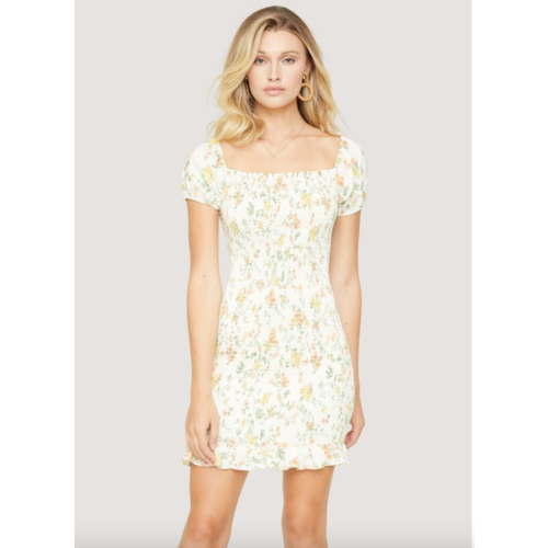 LOST + WANDER BIG ESCAPE MINI DRESS
