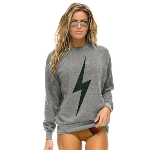 AVIATOR NATION AVIATOR NATION BOLT CREW SWEATSHIRT