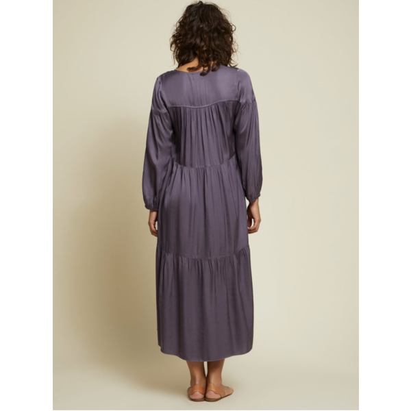 NATION WAVERY TIERED PEASANT  DRESS
