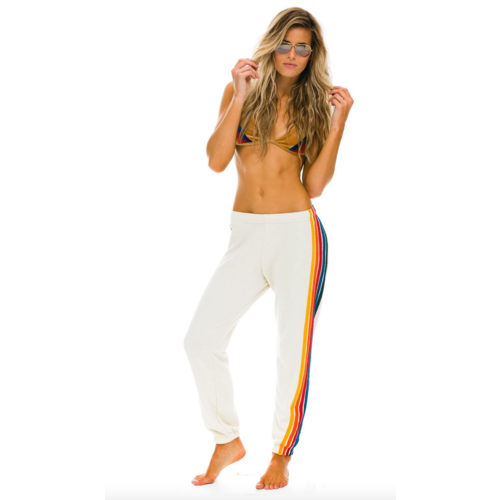AVIATOR NATION AVIATOR NATION 5 STRIPE SWEATPANTS