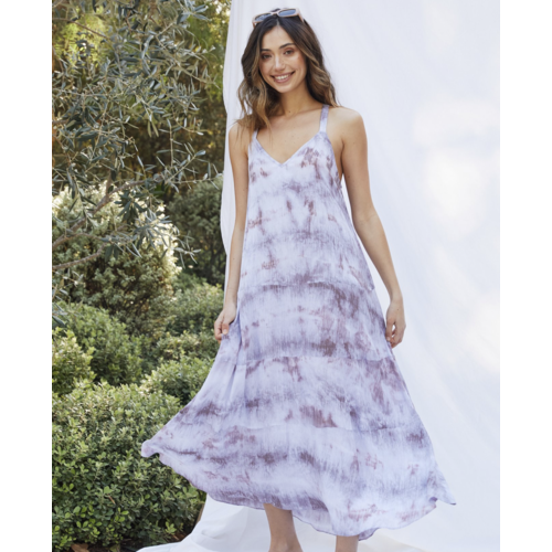 LUCYPARIS LUCY PARIS STEVIE TIE DYE DRESS